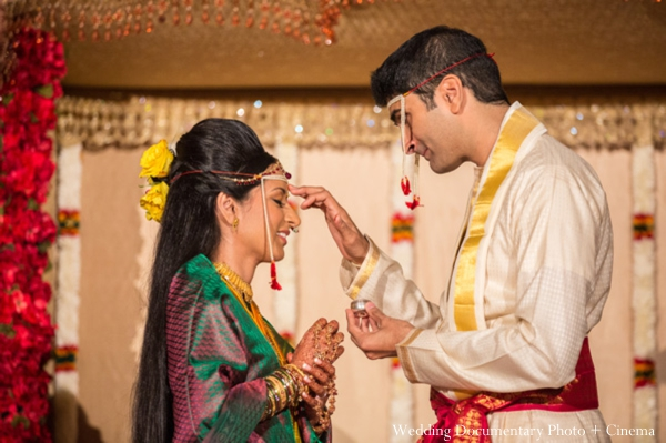Indian wedding ceremony groom bride traditional customs