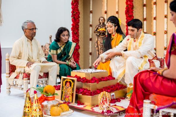 Indian wedding ceremony rituals bride groom