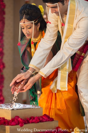 Indian wedding ceremony  traditional bride groom customs