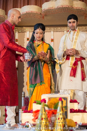 Indian wedding ceremony traditional bride groom