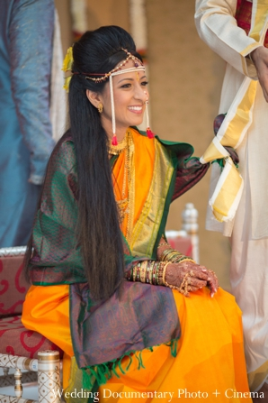 Indian wedding ceremony traditional bride