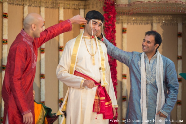 Indian wedding ceremony traditional groom