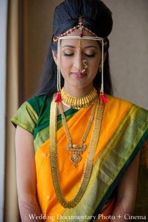 Indian wedding portrait bride traditional