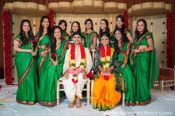 Indian wedding portrait ceremony
