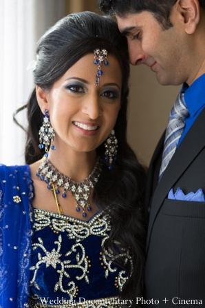 Indian wedding reception getting ready bride groom