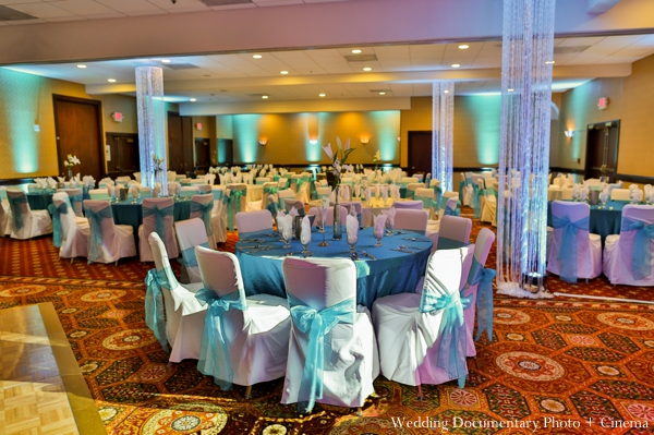 Indian wedding reception design decor inspiration in Concord, California Indian Wedding by Wedding Documentary Photo + Cinema