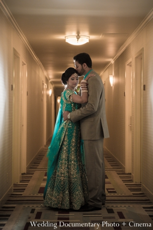 Indian wedding bride groom portrait in Concord, California Indian Wedding by Wedding Documentary Photo + Cinema