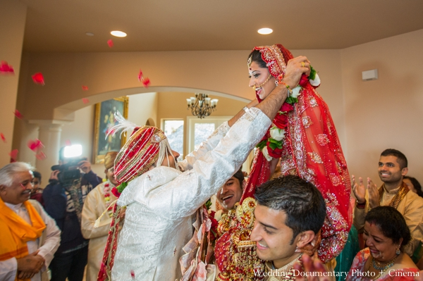 Indian wedding bride groom traditional ceremony celebration in Concord, California Indian Wedding by Wedding Documentary Photo + Cinema