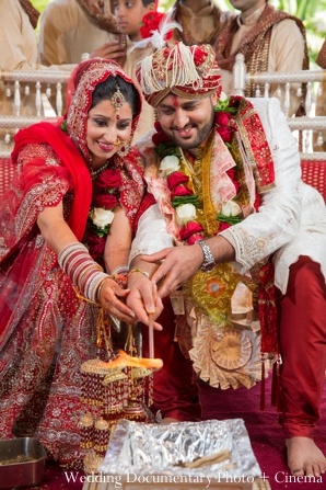 Indian wedding ceremony customs rituals in Concord, California Indian Wedding by Wedding Documentary Photo + Cinema