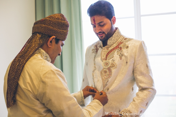 Indian wedding groom sherwani traditional in Concord, California Indian Wedding by Wedding Documentary Photo + Cinema