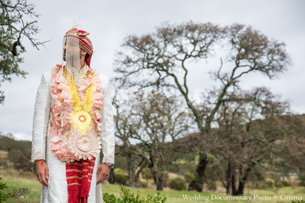 Indian wedding outdoor portrait in Concord, California Indian Wedding by Wedding Documentary Photo + Cinema