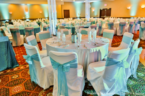Indian wedding reception decor inspiration in Concord, California Indian Wedding by Wedding Documentary Photo + Cinema
