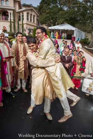 Indian wedding sherwani celebration baraat in Concord, California Indian Wedding by Wedding Documentary Photo + Cinema