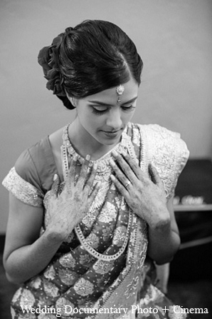 Indian wedding bride getting ready in Pleasanton, California Indian Wedding by Wedding Documentary Photo + Cinema