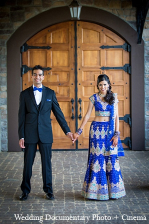 Indian wedding bride groom reception portraits fashion in Pleasanton, California Indian Wedding by Wedding Documentary Photo + Cinema