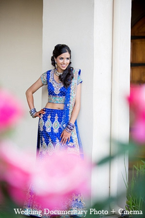 Indian wedding bride reception outfit in Pleasanton, California Indian Wedding by Wedding Documentary Photo + Cinema