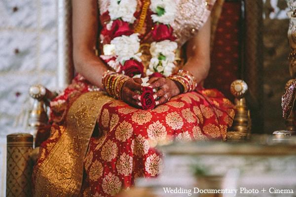 Indian wedding bride tradition hindu in Pleasanton, California Indian Wedding by Wedding Documentary Photo + Cinema