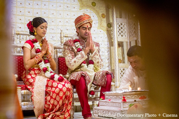 Indian wedding ceremony bride groom hindu in Pleasanton, California Indian Wedding by Wedding Documentary Photo + Cinema