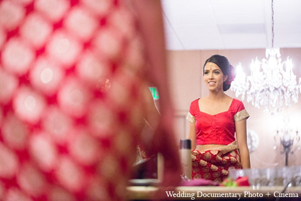 Indian wedding getting ready bride in Pleasanton, California Indian Wedding by Wedding Documentary Photo + Cinema