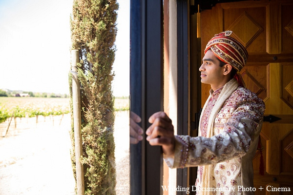 Indian wedding groom photography in Pleasanton, California Indian Wedding by Wedding Documentary Photo + Cinema
