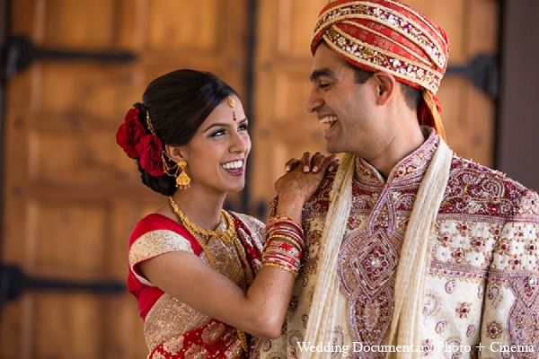 Indian wedding portraits bride groom in Pleasanton, California Indian Wedding by Wedding Documentary Photo + Cinema