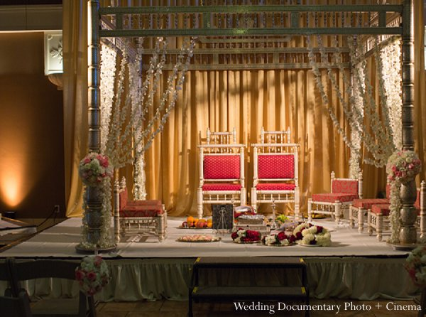 Indian wedding ceremony mandap in Pleasanton, CA Indian Wedding by Wedding Documentary Photo + Cinema