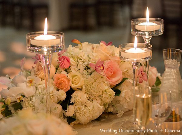 Indian wedding design reception floral in Pleasanton, CA Indian Wedding by Wedding Documentary Photo + Cinema