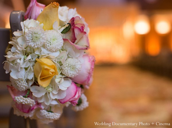 Indian wedding floral decor ceremony in Pleasanton, CA Indian Wedding by Wedding Documentary Photo + Cinema