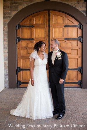 Indian wedding groom bride portrait in Pleasanton, CA Indian Wedding by Wedding Documentary Photo + Cinema