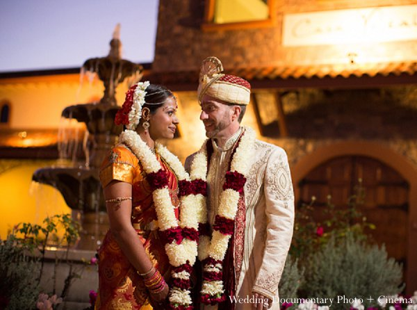 Indian wedding portrait bride groom in Pleasanton, CA Indian Wedding by Wedding Documentary Photo + Cinema