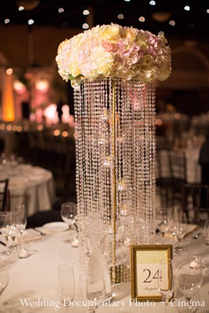 Indian wedding reception decor floral in Pleasanton, CA Indian Wedding by Wedding Documentary Photo + Cinema
