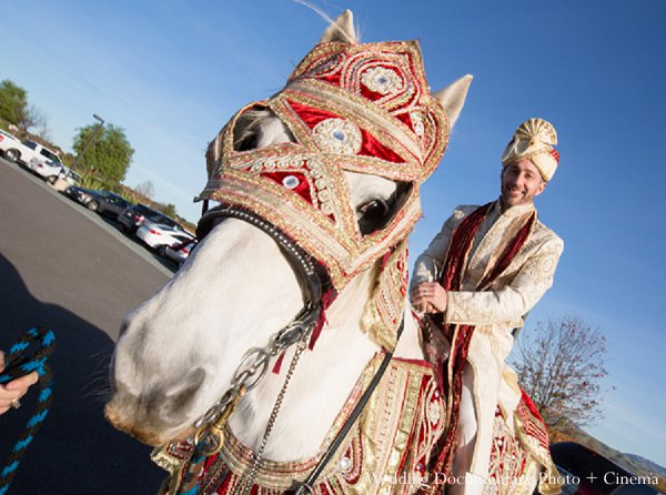Indian weddings baraat groom in Pleasanton, CA Indian Wedding by Wedding Documentary Photo + Cinema