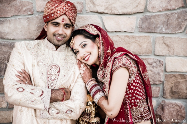Indian-wedding-bride-groom-ceremony-portrait