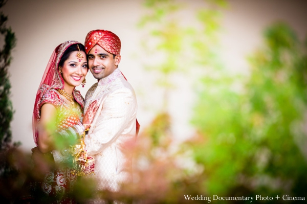 Indian-wedding-bride-groom-nature-portrait