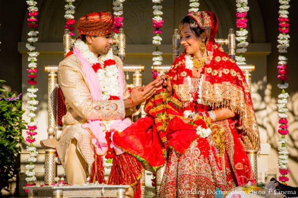 Indian-wedding-bride-groom-red-lengha-groom
