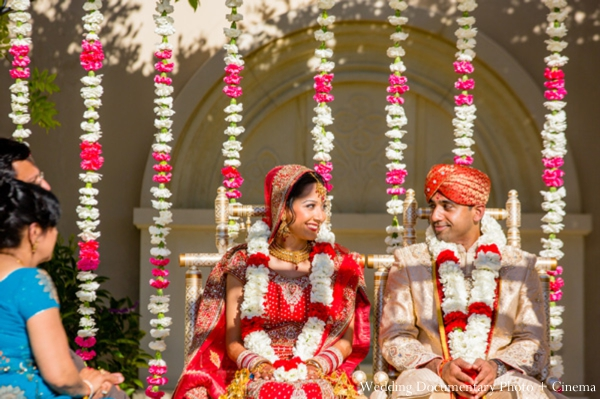 Indian-wedding-ceremony-bride-groom-couple-mandap
