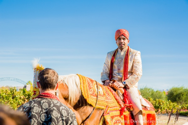 Indian-wedding-portrait-groom-on-baraat