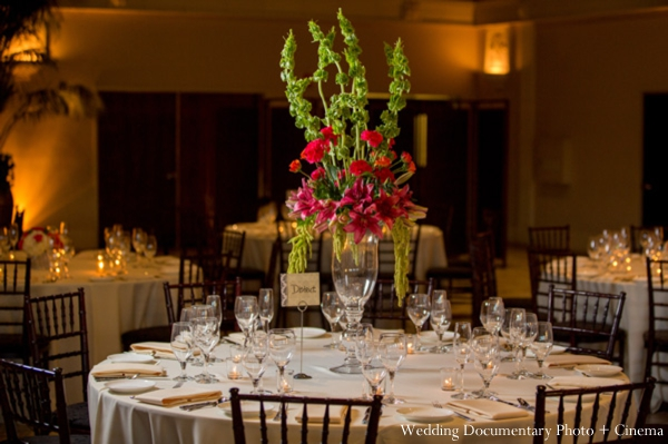 Indian-wedding-reception-table-setting-centerpiece