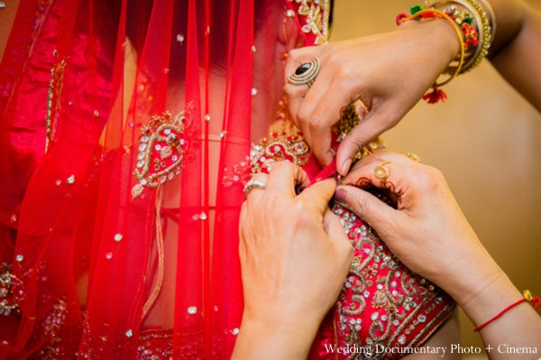 Indian-wedding-veil-prep-for-ceremony