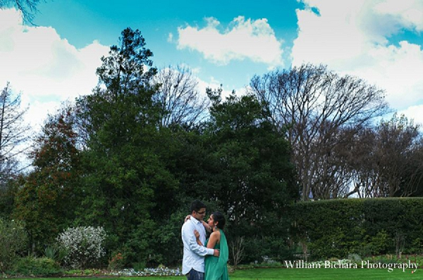 Indian wedding engagement portraits bride groom outdoors in Sweetheart Sunday Winners ~ Anokhi and Amit