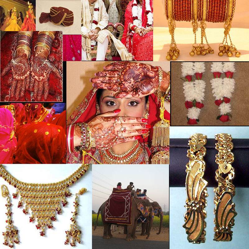 Inspiration board traditional red copy