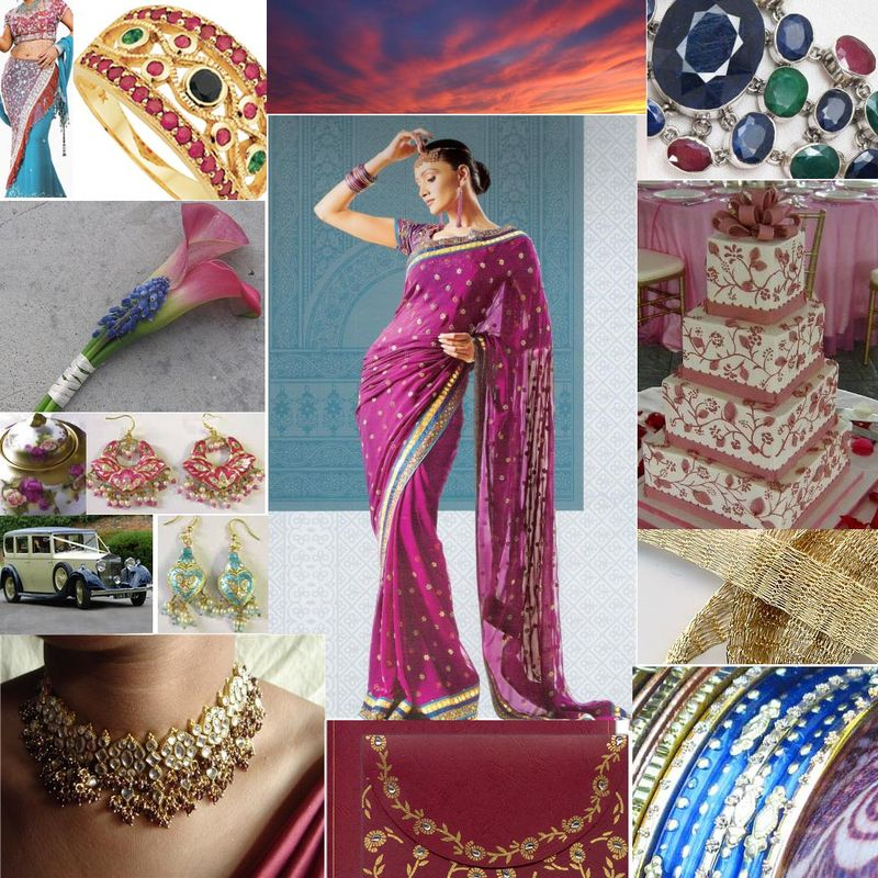 Inspiration board maroon and blue copy