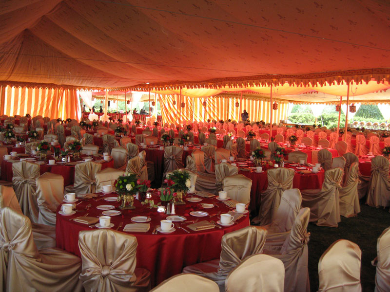 More Heavenly Indian Wedding Tents