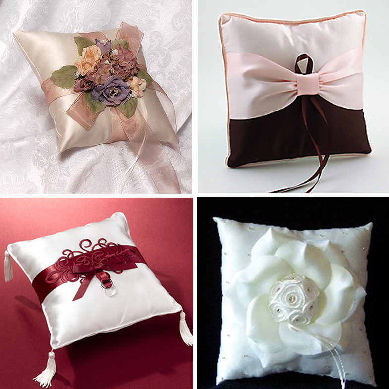 Indian Wedding Details Pillows For Your Ringbearer