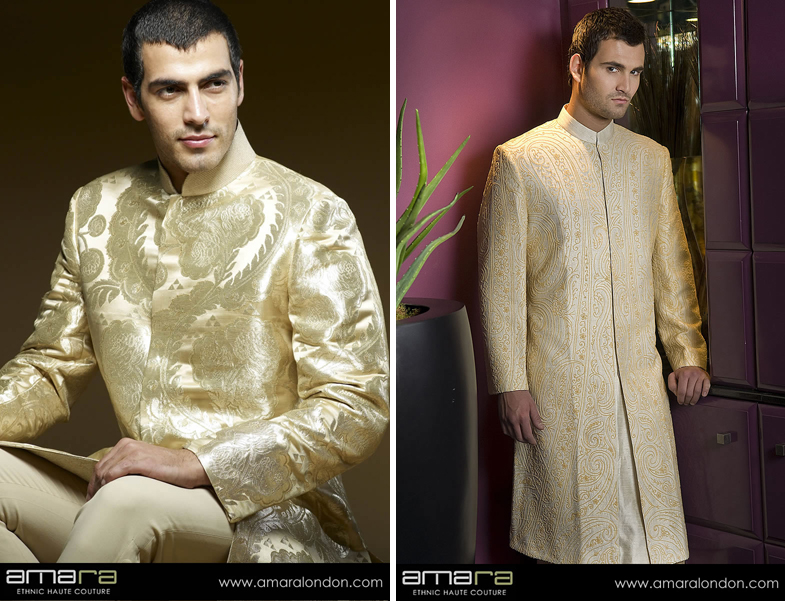 Clothes for the Indian Groom | Maharani Weddings