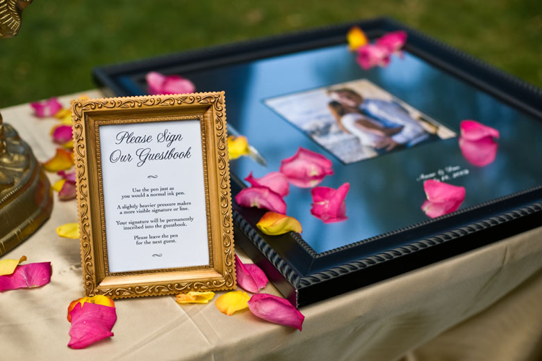 Indian Wedding Ideas A Fabulous Guestbook Post 882