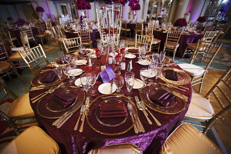 Indian wedding blog, table