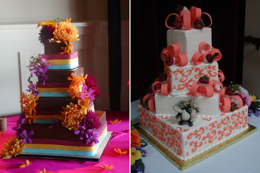 Indian wedding blog, modern indian wedding cake copy