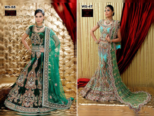 Indian wedding blog, bridal lengha copy