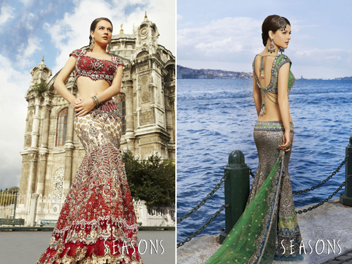 Indian wedding blog, bridal lenghas 2 copy